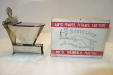 """Vintage Collectible Antique """"The Dental Box"""" Toothpowder holder."""