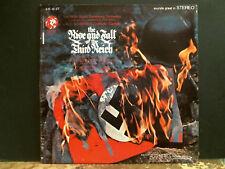Lalo Schifrin aumento y disminución del Tercer Reich Banda Sonora Lp Jazz copia encantadora