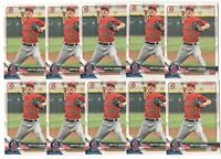x100 GRIFFIN CANNING 2018 Bowman Draft Rookie Card RC lot/set LA Angels! #BD-197