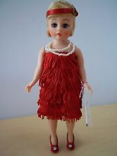 Madame Alexander Flapper in Red  - Blonde Hair - #1118 - Mint in Box!