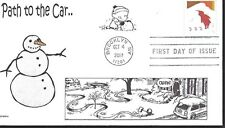 CALVIN AND HOBBES   SNOW  PATH      FDC- DWc CACHET