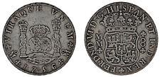 8 SILVER REALES / PLATA. FERDINAND VI - FERNANDO VI. MÉXICO 1756. VF/MBC.