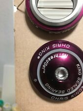 Chris King i8 Inset 8 Headset 44mm 2011 Purple Violet Limited Edition