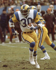 LAWRENCE McCUTCHEON 1978 LA LOS ANGELES RAMS 8X10 PHOTO