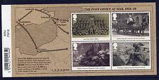 Gb 2016 Great War Miniature Sheet Mnh