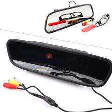 "4.3"" TFT LCD Monitor Rear View Mirror for Car Backup Reverse Camera System DVD"