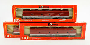 RIVAROSSI HO SCALE 1959 SOUTHERN PACIFIC GOLDEN STATE E8 ABA DIESEL ENGINE SET