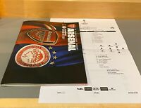 Programm metro stadio Line ups UEFA CL 2018//19 Juventus Turin Manchester United