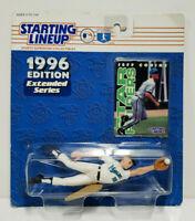 JEFF CONINE - Kenner Starting Lineup MLB SLU 1996 Figure & Card Florida Marlins