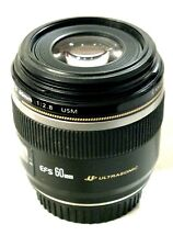 Canon EF-S 60 mm F/2.8 USM Lens  EX+++ Perfect Working