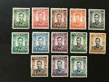 Southern Rhodesia KGVI 1937 SG40-52 Set of 13 MH