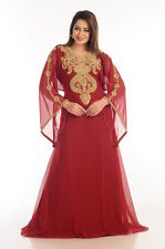 FARASHA  JILBAB  FANCY JILBAB ARABIAN DUBAI ABAYA WEDDING GOWN DRESS  530