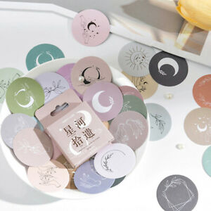45 PCS/PACK Moon Heart Paper Stickers School Stationery Scrapbooking