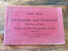 Views and Descriptive History of Lexington and Concord for sale by O.G. Seeley