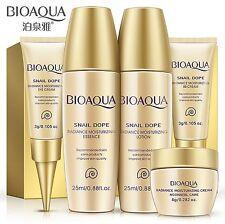 BIOAQUA 5PCS Snail Extract Skin Care Kits Serum Lotion Toner BB Cream Eye Cream