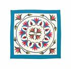 Festive Lotus | Applique Art Wall Hanging Handstitched Egyptian Khayamiya