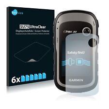 6x protector de pantalla para Garmin etrex 30 película protectora claramente lámina protector de pantalla
