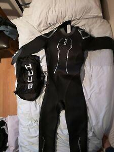 Huub Altius Performance Wetsuit For Triathlon Swimming Size MT - Needs Repair