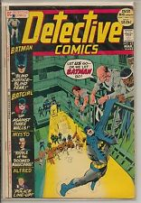 DC Comics Batman In Detective #421 March 1972 Giant Size Batgirl Scarce F