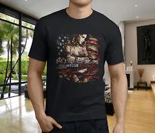 Nouveau populaire Entraver All American Nightmare album Men/'s T-Shirt Noir S-3XL