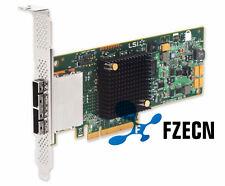 HP H221 660087-001 638836-001 LSI 9207-8E 6Gb/s Extelnal Host Controller Card