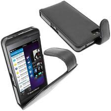 Funda de piel para BlackBerry Z10, negro