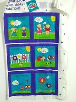 How Dose My Garden Grow Fabric Book Panel by Fabric Traditions Cotton Craft