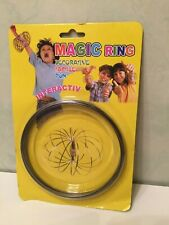 3D Kinetic Spring Toy Interactive Play and Sculpture Magic Flow Ring