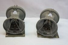 Pair FEDERAL SIGNAL Twin Sonic Rotating light Holder 12x Series A1 SAE-W3-71