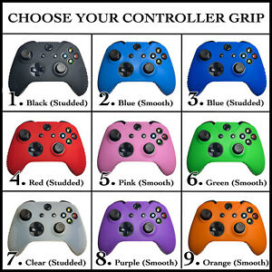 Set of Silicone Rubber Skin Case Cover Paw Analog Grips For Xbox One Controller