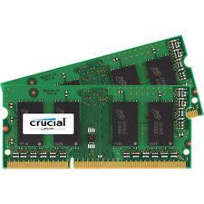 Crucial DDR3 PC3-12800 1600 MHz SO-DIMM CL11 memoria Dual Kit da 8GB (2x4GB)