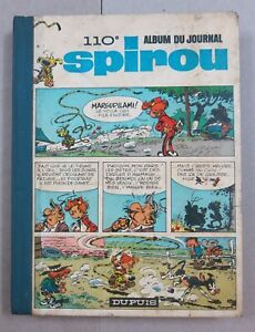 Spirou Album du Journal N°110, Publisher Dupuis 1968, from N° 1577-1589