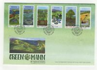 Isle Of Man First Day Cover Green Mann Nicola Dixon 2017 Douglas 095c