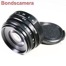 Mini 35mm F/1.6 C mount CCTV lens for APS-C sensor camera Sony NEX Micro 4/3