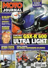 MOTO JOURNAL 1443 Essai Road Test DUCATI 748 RS R 996 SPS SUZUKI GSX-R 600 2000