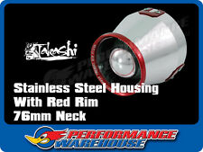 TAKASHI SONIC SERIES HEAT SHIELD POD FILTER AIR FILTER 76mm RED RIM
