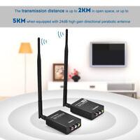 2,4G Wireless Audio Video AV Sender Empfänger Adapter für Heimkino HiFi Projekto