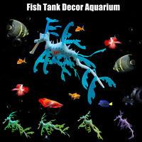 Artificial Aquarium Leafy Sea Dragon Ornament Fish Tank Jellyfish Decoration Pet