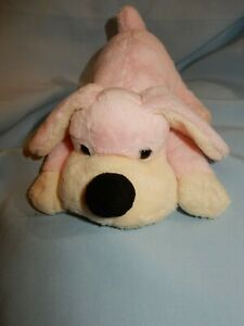 "FAO Schwarz Penelope Pink Pup Dog 8"""