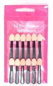 Serenade - 12 Mid Handle Soft Sponge Eyeshadow Applicators