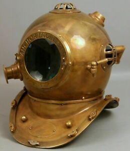 Old Diving Helmet Old Marine Divers Helmet heavy Metal Helmet Free Shipping