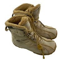 Salomon Snowtrip Snow Winter Waterproof Boots Tan Size 8