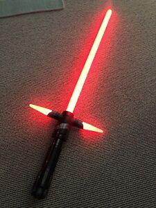 RARE Star Wars Kylo Ren Disney Ultimate FX Lightsaber SOUNDS & LIGHTS