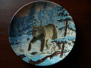 KNOWLES THE LYNX PLATE.