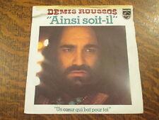 45 tours Demis Roussos - Un coeur qui bat pour toi