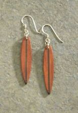 Wood Surfboard Earrings- Stunning -Free P & P-UK