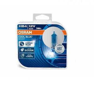 COPPIA Lampade Lampadine OSRAM COOL BLUE BOOST HB4 9006 (P22d) 12V 80W +50% COR