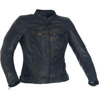 Richa Montana pour femmes en cuir Veste moto Noir
