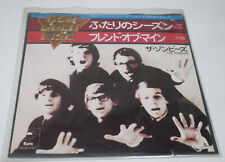 """The Zombies - Time of the Season/Friends of Mine EPIC  7"""" Vinyl Record Japan"""