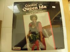 Cookin' with Queen Ida SEALED 1989 Lp Record Zydeco Myrick Guillory Gator Man